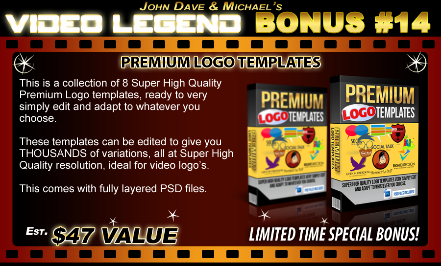 video legend bonus